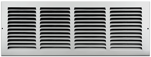White Return Air Grill