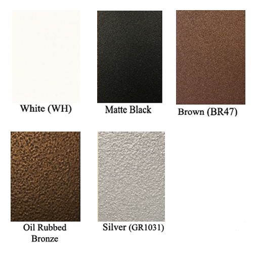 Color Selection for Lineal Grills