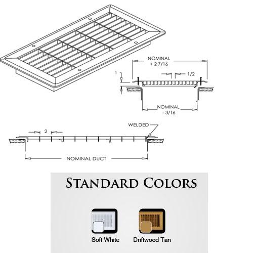 Shoemaker Standard Colors