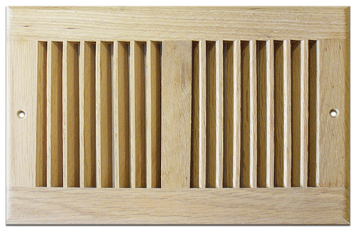 Return Air Grill - Unfinished Red Oak by Accord