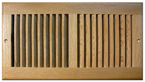 Return Air Grill - Light Oak Finish by Accord