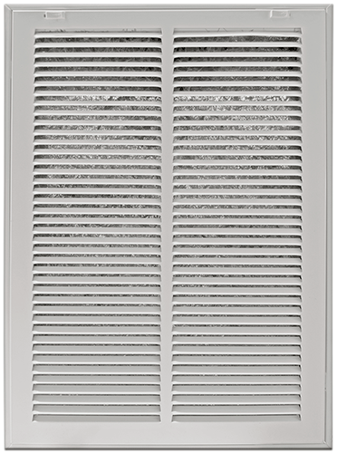 Return Air Filter Grills - White