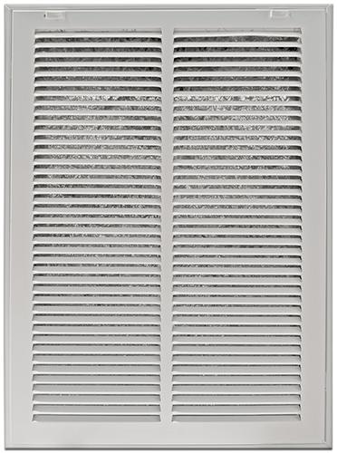 Return Air Filter Grills - White