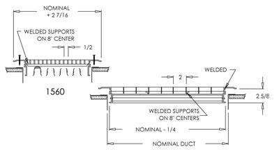 Submittal of Shoemaker Floor Register