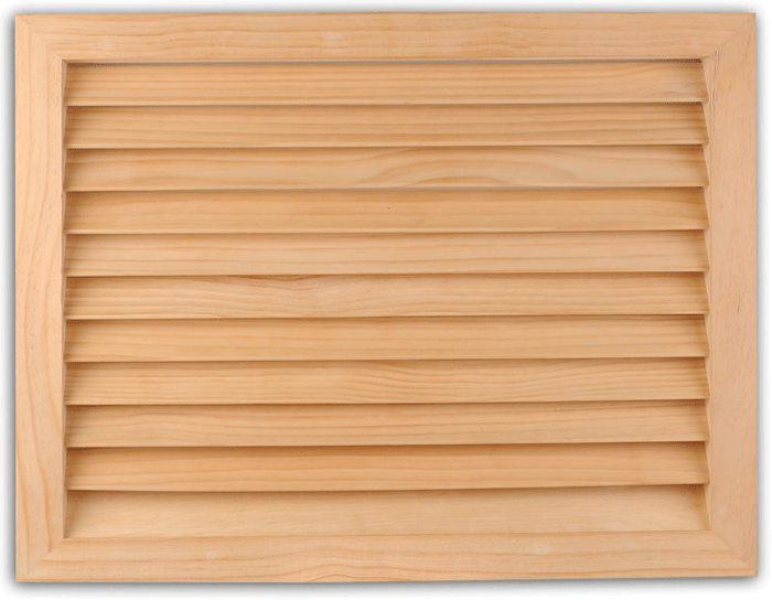 Worth Architectural Series Wood Filter Grills - Wide