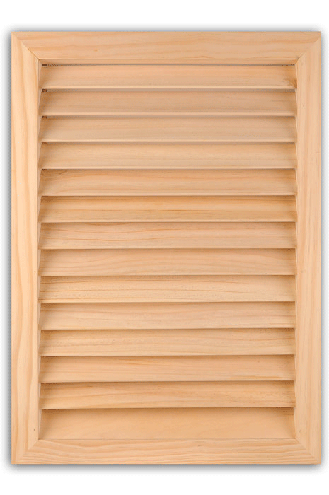 Worth Architectural Series Wood Filter Grills - Tall