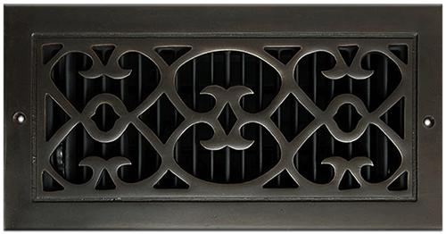 Classic Grills Renaissance Style Registers - Dark Oil Rubbed Bronze