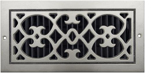 Aluminum Classic Grills Renaissance Style Registers - Bare Aluminum