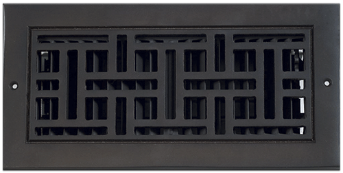 Classic Grills Art And Crafts Themed Registers - Dark Oil Rubbed Bronze