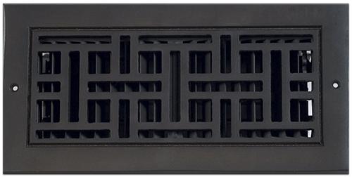 Classic Grills Arts And Crafts Themed Registers - Aluminum, Black