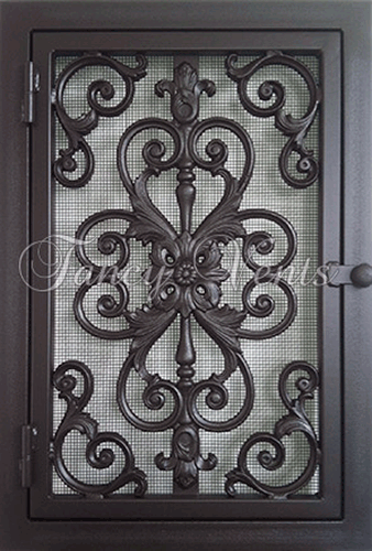 Made Of Durable Steel Frames With Cast Iron Doors And
