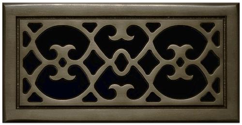 Classic Grills Renaissance Themed Return Air Grills - Light Oil Rubbed Bronze