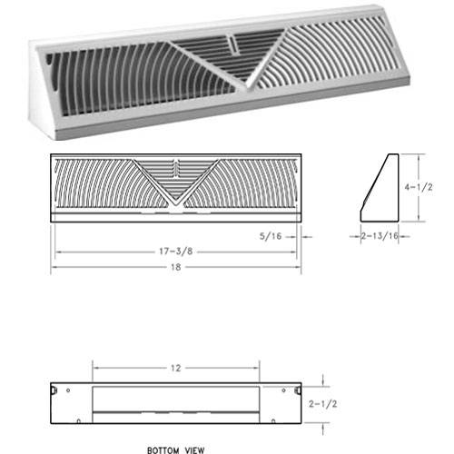 Baseboard Vents | Return Air Grill