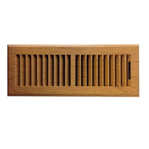 Plastic Oak Vent Cover Floor Register Looks Like Wood