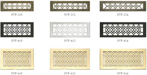 Hamliton Sinkler Strathmore Floor Registers