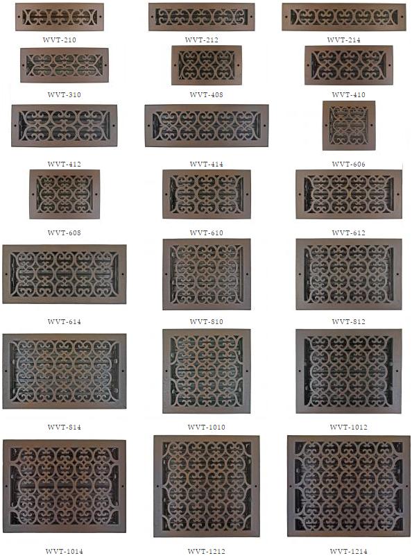 Scroll Wall Registers
