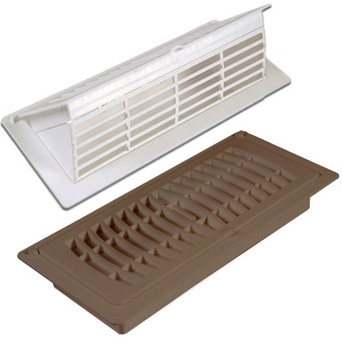Pop up floor register plastic air vent cover for Floor register covers