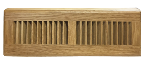 Already Finished Natural Oak Baseboard Diffuser