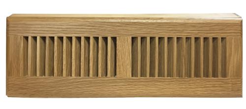Already Finished Natural Oak Baseboard Diffuser