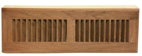 Unfinished Brazilian Cherry Baseboard Vents - Zoroufy