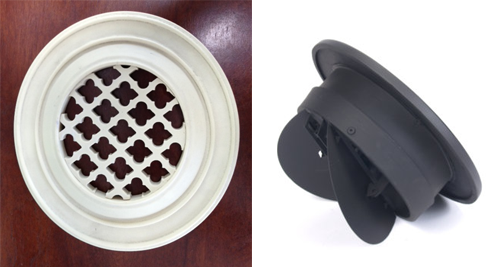 Decorative Wall Vent Round Wall Register Cover
