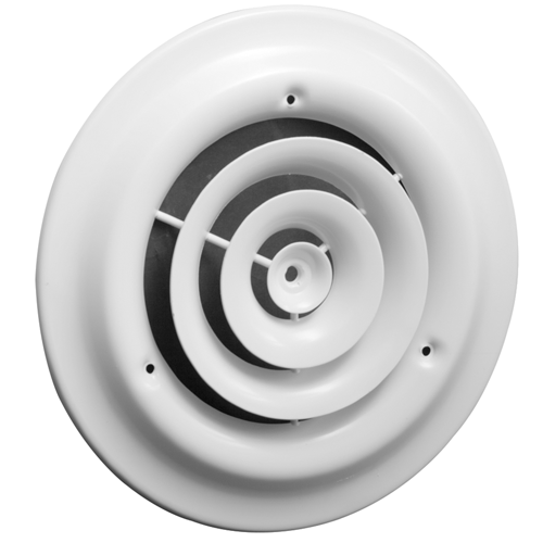10 Inch Round Ceiling Grille White