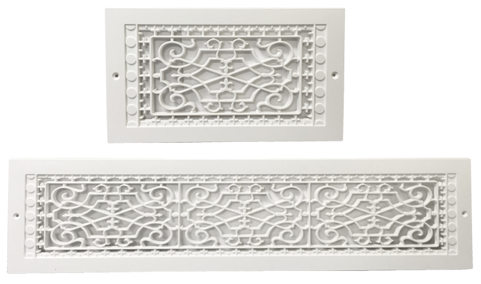 Wall Decorative Return Air Grille Plastic Ceiling Vent Cover