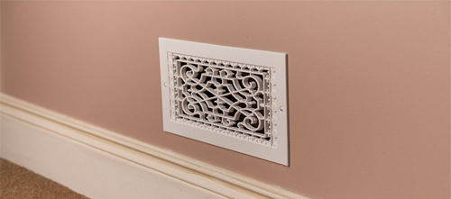 Plastic Ceiling Vent Cover - Decorative Return Air Grille