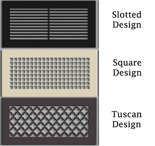 Decorative Custom Wall Return Grill