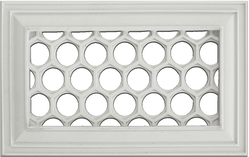 Distinguished Design Honeycomb Resin Wall Register