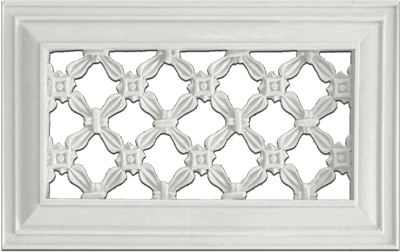 Distinguished Design Gregorian Cross Resin Wall Grill