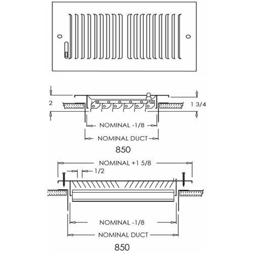 Shoemaker 850 Series Register