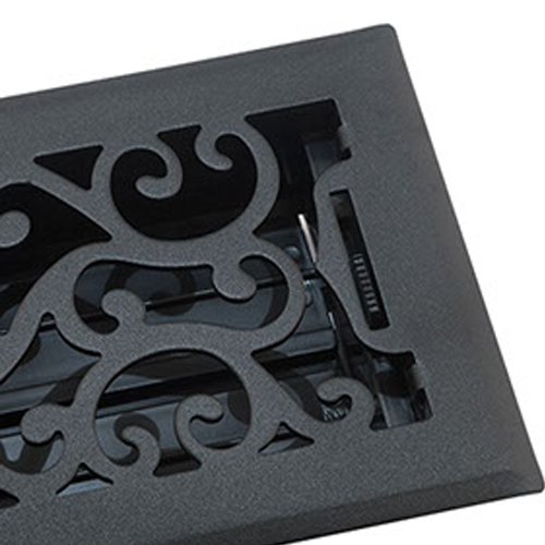 Black Floor Vents - Accord Registers
