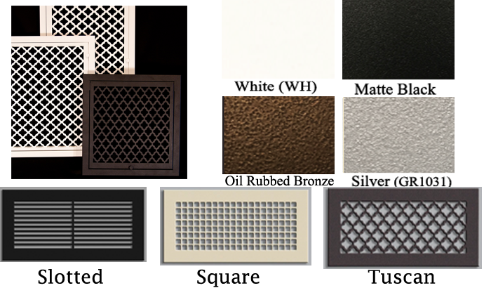Decorative Wall Return Filter Grille