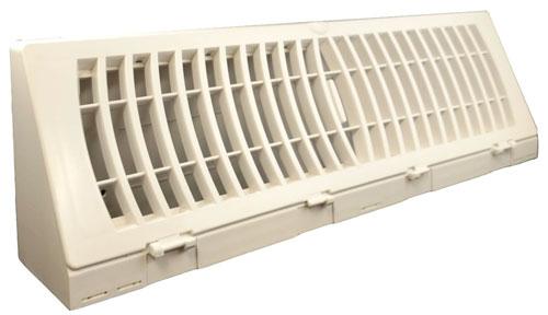 TruAire Baseboard white Plastic