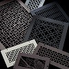 Steel Crest Decorative Registers