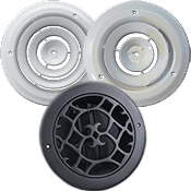 Round Wall And Ceiling Registers Round Air Vent Register