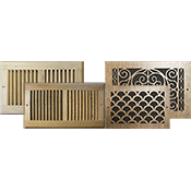 Wood Return Grilles