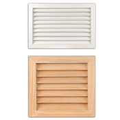 Wood Return Filter Grilles