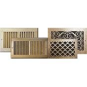 Wood Wall Registers