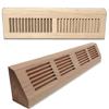 Wood Baseboard Registers