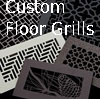 Decorative Custom Floor Grills