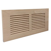 Unfinished Wood Baseboard Grills