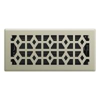 Satin Nickel Templar Floor Register