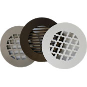 "6"" Decorative Round Grills - In Stock"