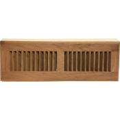 Brazilian Cherry Wood Baseboard Diffuser - Unfinished