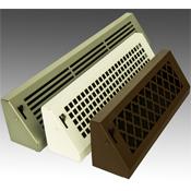 Steel Crest Basic Series Baseboard Register