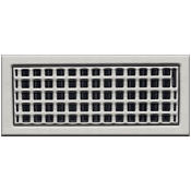 Classic Grills Craftsman Themed Return Air Grills - White Bronze