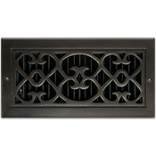 Classic Grills Renaissance Themed Registers - Bronze