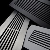 Steel Crest Linear or Vertical Floor Return